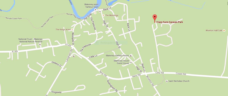 map caravan park